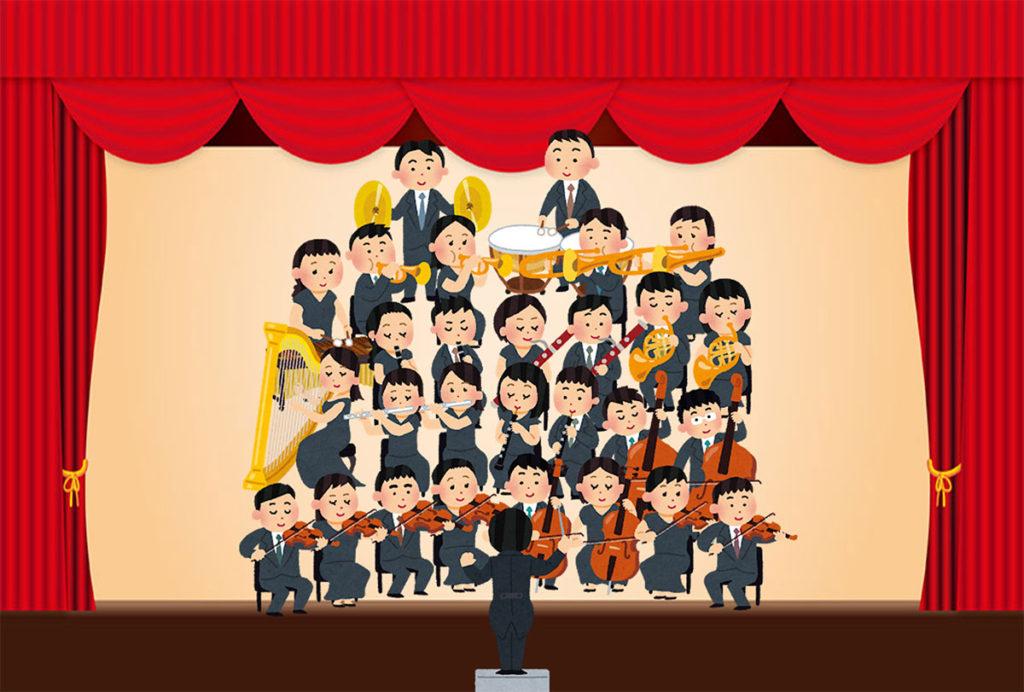 舞台やステージでのコンサート・ライブなどイベントの記録撮影イメージ